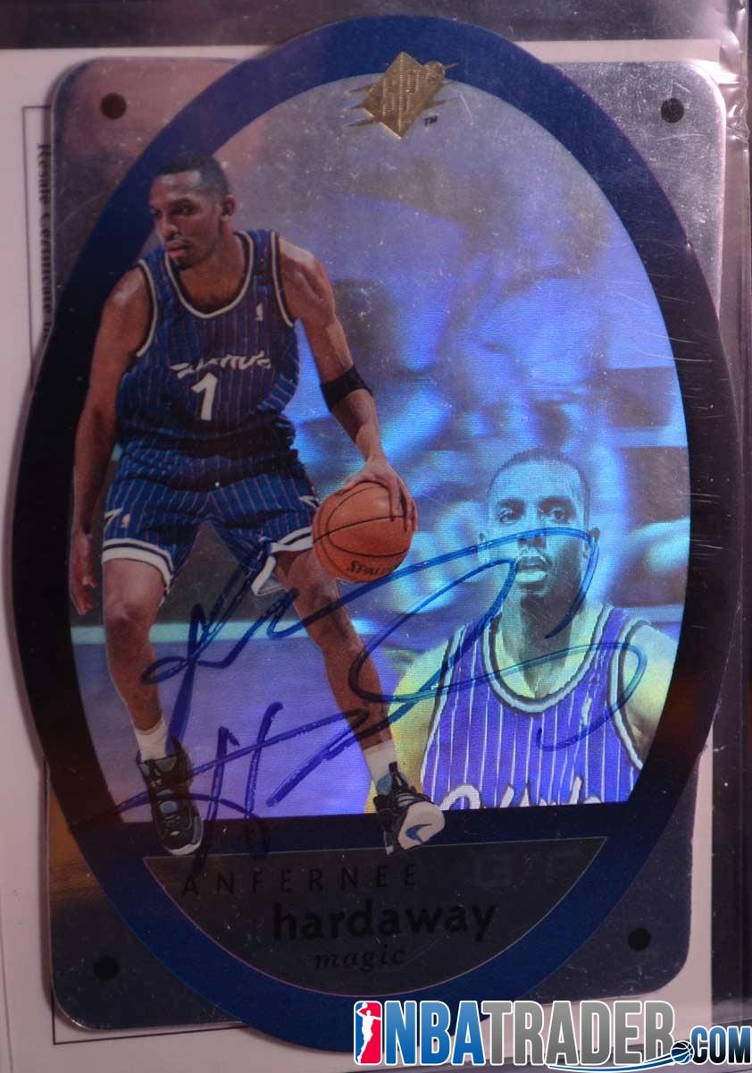 """Anfernee """"Penny"""" Hardaway 1996 SPX Autograph UDA Certificate NBA"""